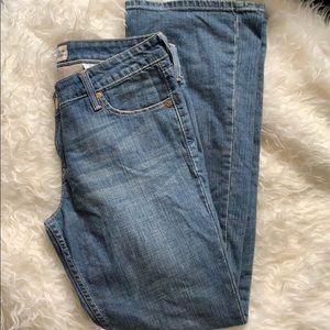 Levi's low slim bootcut jeans